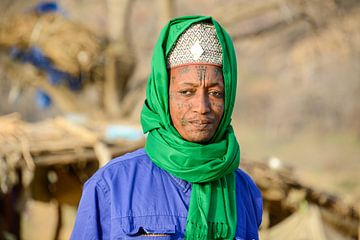 Fulani Bororo in het zuiden van Tsjaad van Maarten van de Biezen