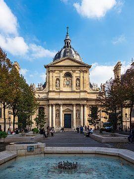 Blick auf die Sorbonne Universität in Paris, Frankreich von Rico Ködder
