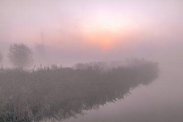 Zonsopgang Kinderdijk sur AdV Photography