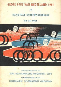 Rennen von Zandvoort 1961 von Jaap Ros