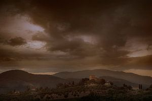 Tuscan Hills van Jurgen Siero