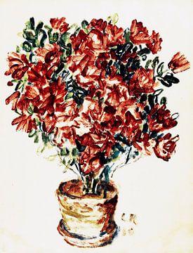 Azaleas, Christian Rohlfs, 1910