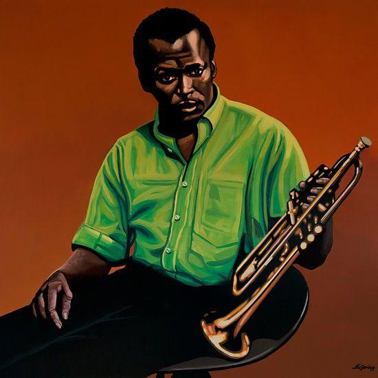 Miles Davis Schilderij 2