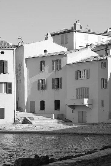 Huizen aan zee in Saint-Tropez