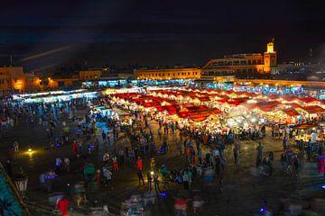 Marrakech Djemaa El Fna von Peter Relyveld