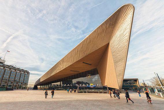 Rotterdam Centraal station van Rob van der Teen