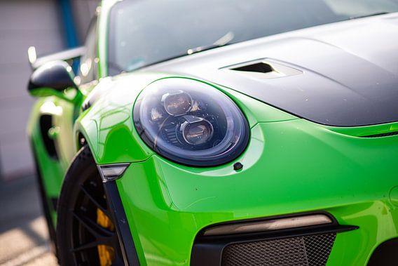 Porsche 911 GT3 RS op het circuit van Assen