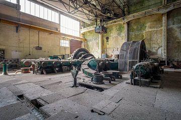stillgelegte Maschinen von Kristof Ven