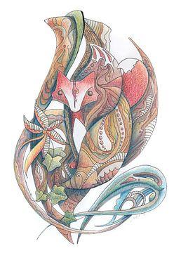 Das Wesen des Fuchses von Struinkunst