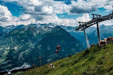 Alpenlandschap van Martijn van den Hil