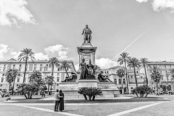 Monument von Camillo Benso di Cavour von Eus Driessen
