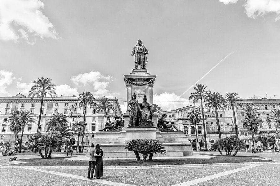 Monument van Camillo Benso di Cavour van Eus Driessen