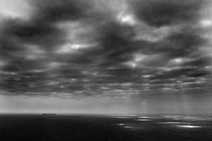 Achill Island, Ierland (zwart-wit) van Roel Janssen