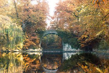 Steinbrücke Antwerpen von Dennis Donders