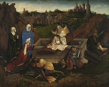 Jan van Eyck - The Three Marys at the Tomb sur