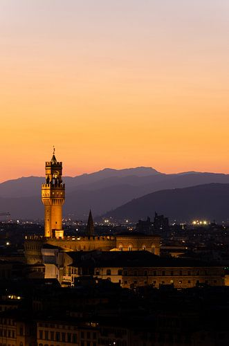 gouden uurtje in Florence