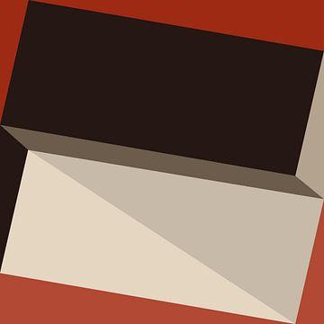Abstracte samenstelling 709 van Angel Estevez