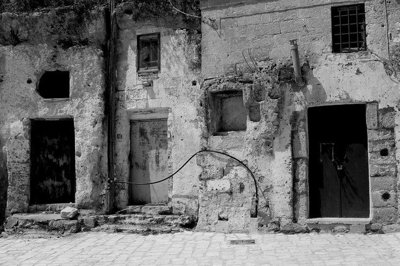 Sassi di Matera, Zuid-Italië van Inge Hogenbijl
