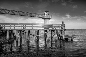 Leuchtturm Oostmahorn Lauwersmeer. von Kok and Kok
