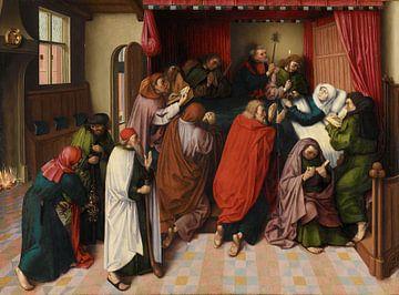 Maria auf dem Sterbebett, Meister des Amsterdamer Todes von Maria