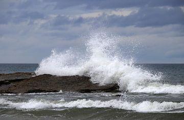 Playa de Las Catedrales wilde golven