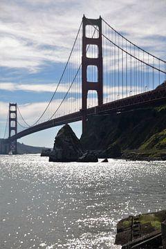 golden gate bridge von Ray Lagrand