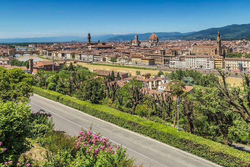 FLORENCE View from Piazzale Michelangelo van Melanie Viola