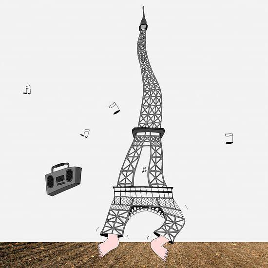 Dansende Eiffeltoren