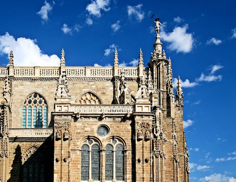Kathedraal van Astorga van Sigrid Klop