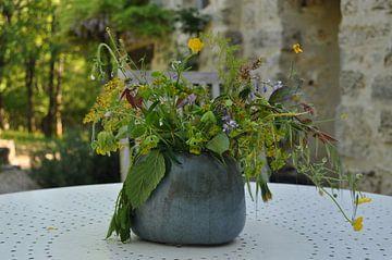 Wilde bloemen van Myrthe Visser-Wind