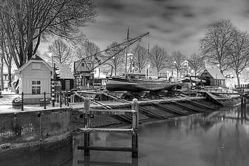 Scheepshelling Koningspoort te Rotterdam