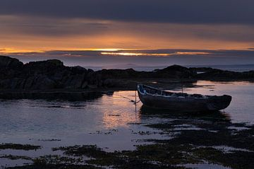 Sonnenuntergang Irland von Johan van Veelen