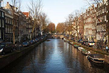 Grachten von Amsterdam von Sander Jacobs