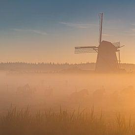 Le moulin de Lienden sur Albert Lamme