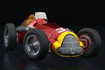 Alfa Romeo 158 Alfetta 1950 driekwart zicht