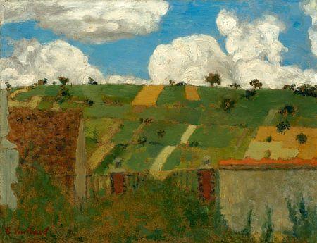 Paysage d'Ile-de-France, Edouard Vuillard
