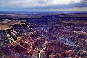 Grand Canyon met Colorado rivier