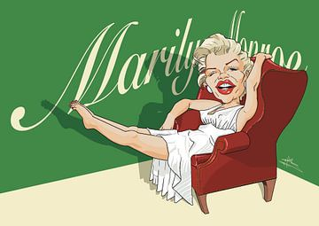 Marilyn Monroe von NoëlArts