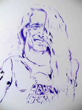 Cliff Burton - Metallica sur Lucia Hoogervorst