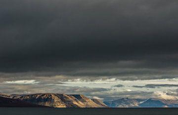 Billefjorden Spitsbergen, Landschap van Ramon Lucas