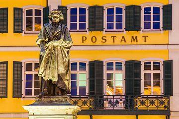 Monument Beethoven à Bonn sur Werner Dieterich