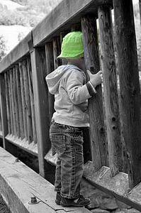 Jongetje met het groene hoedje