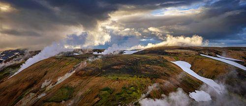 Storihver springs panorama van