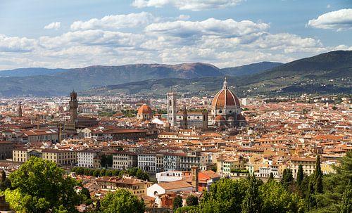 Florence stadsgezicht van
