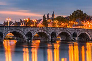 Sint Servaasbrug (or the St. Servatius Bridge), Maastricht von Henk Meijer Photography