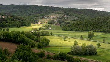 Toscaanse heuvels van Kevin van Deursen
