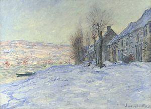 Lavacourt, Sonne und Schnee, Claude Monet von The Masters
