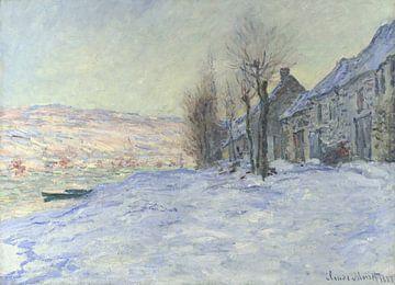 Lavacourt, Soleil et neige, Claude Monet