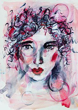 "Portrait Frau ""Frutsely"" unter dem Bann des Rings von Bianca ter Riet"