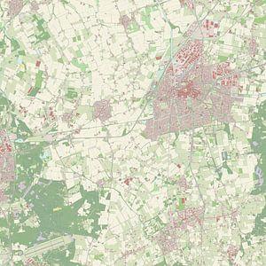 Kaart vanRoosendaal